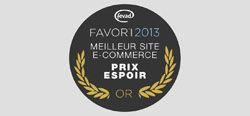 L'Exception, lauréat Or du Prix Espoir Ecommerce 2013