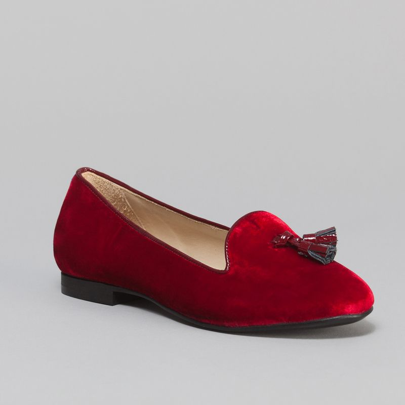 Valentin Slippers Red Chatelles