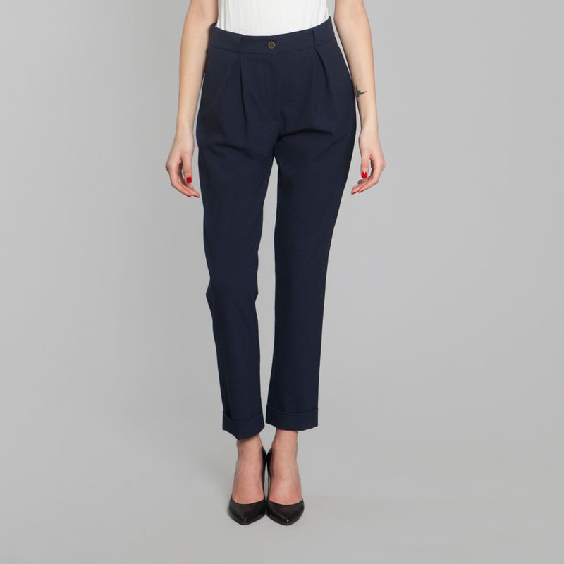 Jules Pants Navy Blue FrenchTrotters