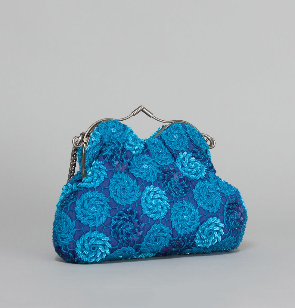 Jamin Puech Blue Dorothy Bag on sale at L'Exception