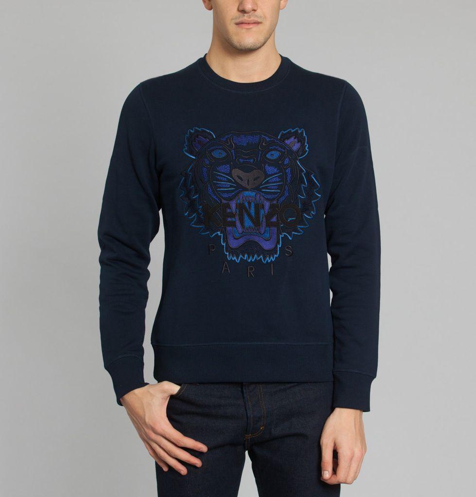 pull kenzo homme bleu sweat kenzo tigre pas cher noir