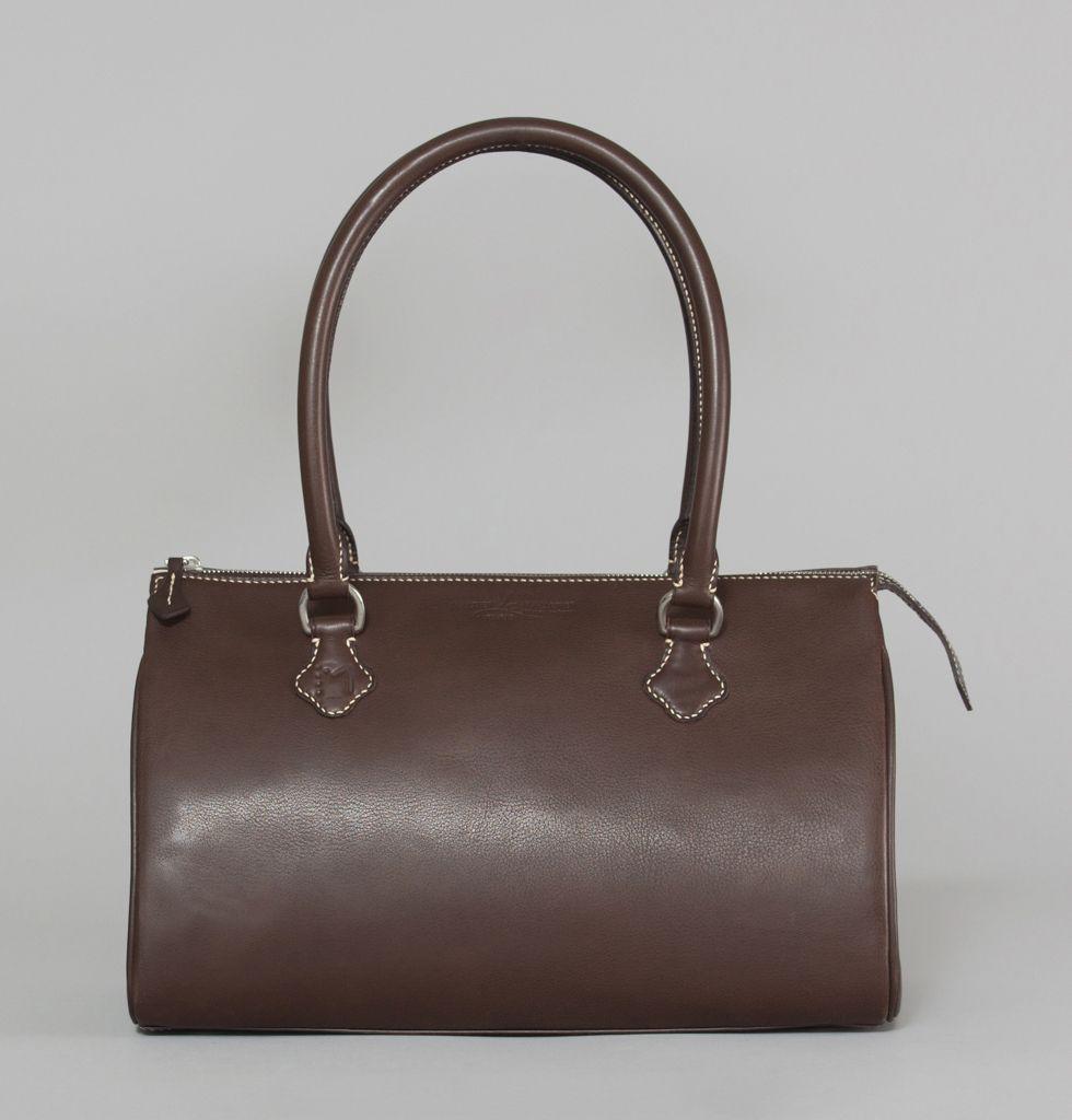 sac ali nor maltier le malletier marron en vente chez l 39 exception. Black Bedroom Furniture Sets. Home Design Ideas