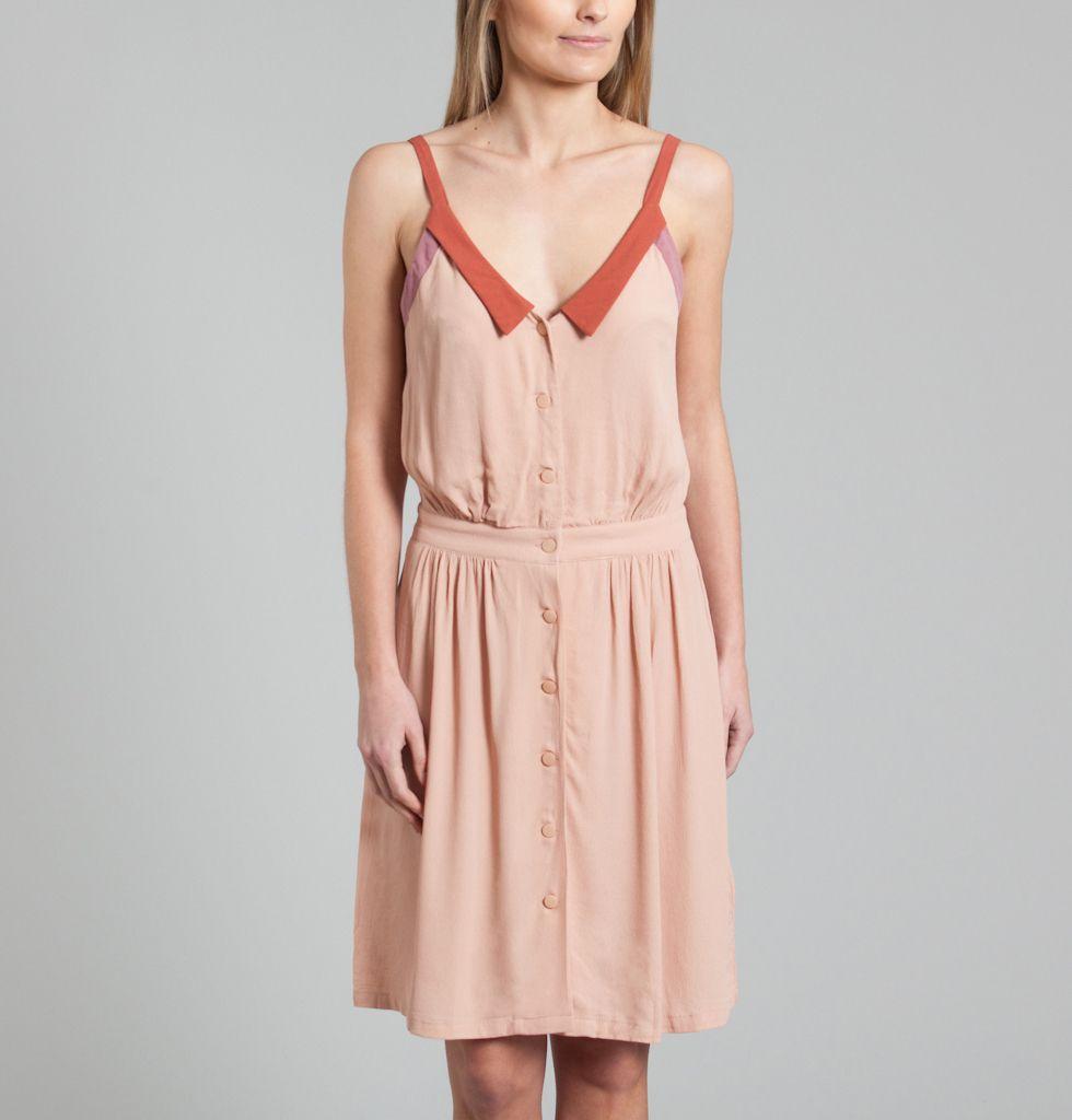 Robe sarah lou sess n multicolore en vente chez l 39 exception - Vente a domicile pret a porter femme ...